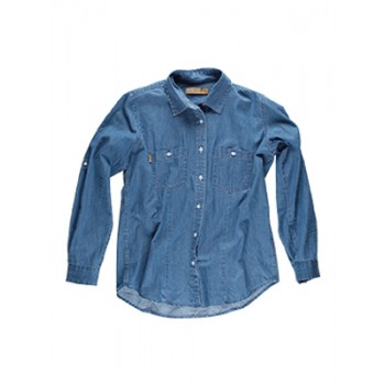 Camicia Denim Donna - Workteam