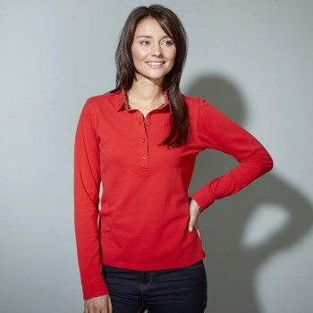 POLO DONNA LONG-SLEEVED