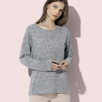 Pullover Knit Sweater Donna - Stedman