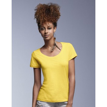 T-shirt Featherweight Donna - Anvil