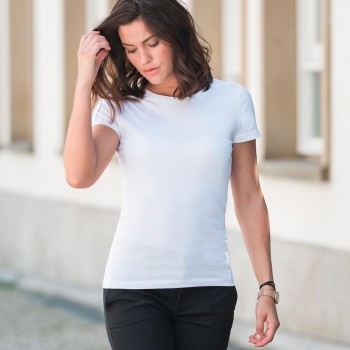 T-shirt Cotone Organico Donna - Russell
