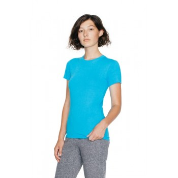 T-shirt Fine Jersey Donna - American Apparel
