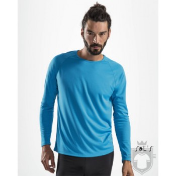T-shirt Sporty LSL Men - Sol'S