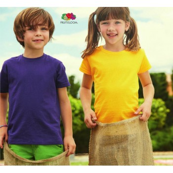 T-shirt Valueweight Bambino - Fruit of the Loom